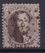 N° 14 A LP 83 CINEY   COBA +6.00 - 1863-1864 Medaillen (13/16)