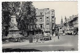"Belgique-Hasselt-Koning Albertstraat En Monument "" Boerenkrilg""-Rue Roi Albert Et Monument "" Guerre Des Paysans"" Cpsm - Hasselt"