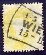 AUSTRIA  1860 Franz Joseph 2 Kr, Perf. 14 Used.  Michel 18 - 1850-1918 Empire