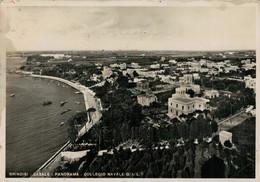 BRINDISI  CASALE  PANORAMA  COLLEGIO NAVALE G.I.L.   TASSATA       (VIAGGIATA) - Brindisi