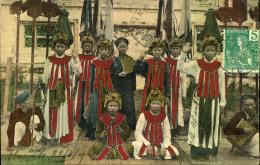 1909, Interesting Ppc From HANOI TONKIN - Ohne Zuordnung