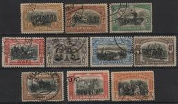 RO 41 - ROUMANIE N° 172/181 Oblitérés - 1881-1918: Charles I