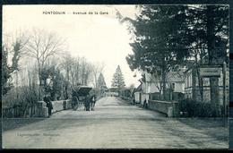 PONTGOUIN - Avenue De La Gare - Andere Gemeenten