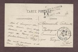 Franchise Militaire Service Santé * Place Forte De Besançon Hôpital Temporaire  *  Hôpital Militaire  1914 - 1918 DOUBS