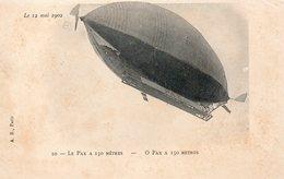 Le PAX à 150 Mètres Le 12 Mai 1902 - Airships