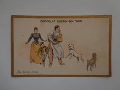 CHROMO CHOCOLAT GUERIN BOUTRON  UNE BONNE PRISE - Guérin-Boutron