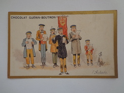 CHROMO CHOCOLAT GUERIN BOUTRON  L'AUBADE - Guérin-Boutron