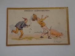 CHROMO CHOCOLAT GUERIN BOUTRON  ÉCHAPPÉ - Guérin-Boutron