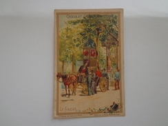 CHROMO CHOCOLAT GUERIN BOUTRON LE FIACRE - Guérin-Boutron