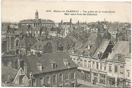 CAMBRAI RUINES VUE PRISE DE LA CATHEDRALE - Cambrai