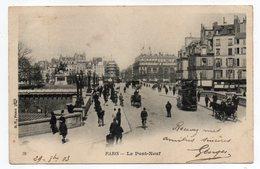 PARIS 1er--Le Pont-Neuf  (très Animé,attelages,bus,vélo)  N°79  éd B.F  Paris--carte Précurseur - Arrondissement: 01