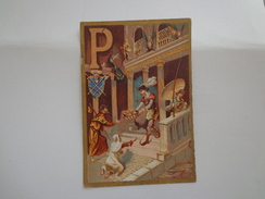CHROMO CHOCOLAT G.PELLERIN  LETTRE P - Chocolat