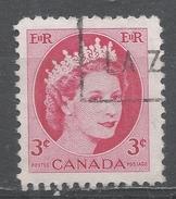 Canada 1954, Scott #339 Queen Elizabeth II (U)