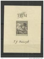 1938 MH  Ceskoslovensko, Block 3 - Blocks & Sheetlets