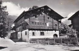 Switzerland Tellenhaus In Ernen 1965 Photo - VS Valais