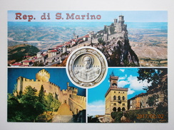 Postcard Rep Di S Marino San Marino Multiview My Ref B2270 - San Marino