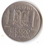 Albania 0,20 Lek 1940 - Albanie