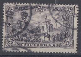 DR Minr.80 Ba Gestempelt Geprüft - Deutschland