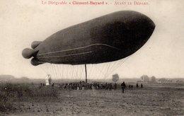 Le Dirigeable Clément Bayard Avant Le Départ - Dirigeables