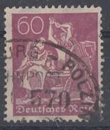 DR Minr.184 Gestempelt Geprüft - Deutschland