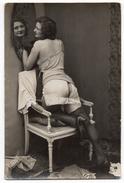 Carte Photo érotique - Femme Dénudée - Nus Adultes (< 1960)