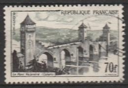 France    .     Yvert    .     1119           .       O      .     Oblitéré      .        /      .      Cancelled - Francia