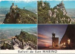 Saluti Da San Marino, Used Postcard [19474] - San Marino