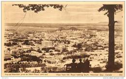 Sepia Pictorial Postcard  - View From Mt Royal, Looking South,  Montreal  #252  Unused - 1903-1954 Reyes
