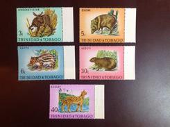Trinidad & Tobago 1971 Wildlife Animals MNH