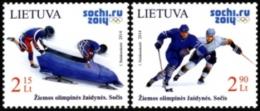 LITHUANIA LITUANIE 2014 WINTER OLYMPIC GAMES. SOCHI 2014