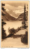 Sepia Pictorial Postcard  -Lake Louise, Banff,  Alberta .  #456  Unused - 1903-1954 Kings