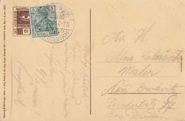 DR Anlasskarte EF Minr.85I SST Int. Hygiene-Ausstellung Dresden 1911 - Deutschland