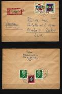 DDR - RECO-Beleg Mi-Nr. 1377 + 1378 - [6] Democratic Republic