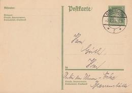 DR Ganzsache Minr.P175 Gütersloh 2.3.29 Klarer Stempel - Deutschland