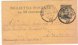 1913 – Biglietto Postale Interitalia N. 11 - 1900-44 Vittorio Emanuele III