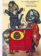 CPM TALLEYRAND Cléo De MERODE Orgue De Barbarie Organ Barrel Caricature Tirage Limité JIHEL / LARDIE - Lardie