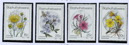1987 - BOPHUTHATSWANA - Catg.. Mi. 186/189 -  NH - (I-SRA3207.14) - Bophuthatswana