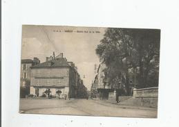 SARLAT ENTREE SUD DE LA VILLE (CHIRURGIEN DENTISTE MORTUREUX ET MAGASIN A LA MENAGERE) 1921 - Sarlat La Caneda