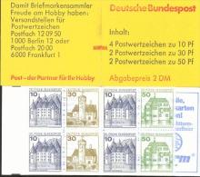 Markenheftchen Bund Postfr. MH 22 M MZ MNH ** - Markenheftchen