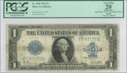 USA 1 DOLLAR $ 1923 SILVER CERTIFICATE PCGS VF-20 - Silver Certificates (1878-1923)