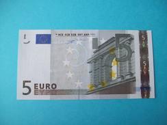 BILLET 5 EURO PORTUGAL U 002 A 3  PRESQUE NEUF PREMIÈRE SIGNATURE DUISENBERG - 5 Euro