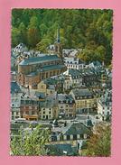 C.P.  Bouillon   =  Panorama  Avec  L'  Eglise - Bouillon