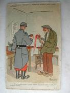 FANTAISIES - Série De 9 CPA - Le Paysan Et L'armée - Humour