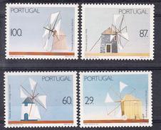 PORTUGAL1989.MOINHHOS DE VENTO   AFINSA Nº1894/97 .NUEVOS SIN CHARNELA .SES463GRANDE - 1910-... República
