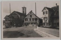 üsslingen, Dorfplatz, Post, Telegraph - Animee Belebt - TG Thurgovie