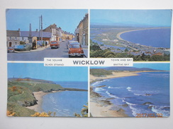 Postcard Wicklow Multiview By Cardall Of Dublin My Ref B2274 - Wicklow