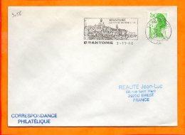 DORDOGNE, Brantôme, Flamme SCOTEM N° 9056, La Venise Du Périgord - Marcophilie (Lettres)