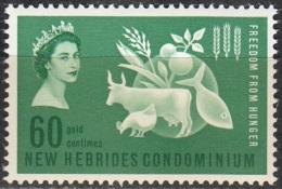 Nouvelles Hebrides 1963 Michel 194 Neuf ** Cote (2005) 2.50 Euro Campagne Mondiale Contre La Faim - Légende Anglaise