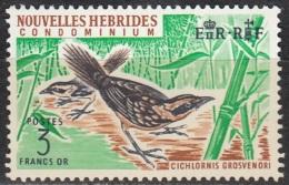Nouvelles Hebrides 1967 Michel 266 Neuf ** Cote (2005) 15.00 Euro Megalurulus - Légende Française