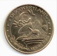 Monnaie De Paris 77.Disneyland N°6 Discoveryland 2004 - 2004
